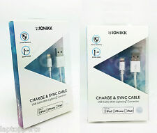 IONIKK Apple 1.3m Lightning To USB Charger Cable iPhone SE 6 5 5C 5S 6 Plus iPad