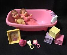 Lot Of Barbie Baby Sister KRISSY DOLLS Vintage 1973 Loving Happy Family