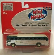 CMW Mini Metals HO GMC PD 4103 Greyhound Bus New York