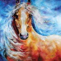 Marcia Baldwin 23581 STARBRIGHT PALOMINO 15x15 Canvas Wall Art in Gift Box
