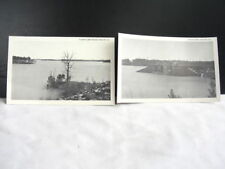 2 Vntg Mid-century Buford Georgia GA Lake Lanier, Dam Divided Back POSTCARDS