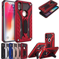 Heavy Duty Armour Shockproof Hybrid Case Kickstand Cover For iPhone 6s 7,7 Plus