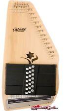 Oscar Schmidt OS45CE Appalachian 21 Chord Electric Autoharp Natural Wood Finish
