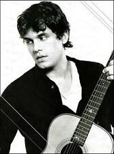 John Mayer Signature Martin OM-28 acoustic guitar 8 x 11 b/w pin-up photo print