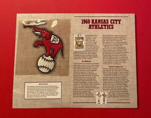 1960 Kansas City Athletics Uniform Patch MLB Baseball