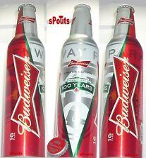 2012 FENWAY PARK 100yrs BOSTON RED SOX MLB BASEBALL BUD ALUMINUM BOTTLE BEER CAN