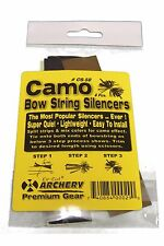 2 Packs Camo Rubber Cat Whisker String Silencers Hunting Archery Free Shipping
