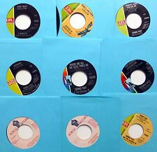 DENNIS YOST & The CLASSICS IV Lot of 9 x 45rpm POP   e037