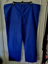 Dickies Galaxy Blue Unisex Size Xl Scrub Uniform Pants With Drawstrings
