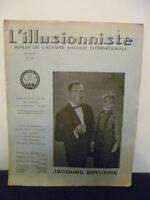 Rivista 1969 - Gioco Magia N° 215- L'Illusionista - G. Bert
