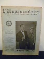 1969 magazine-magic-nº 215 - the illusionist-G. bert
