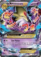 Pokemon TCG XY FATES COLLIDE : MEGA M ALAKAZAM EX 26/124