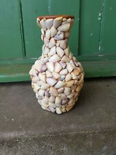 Vintage Real Sea Shell Vase
