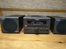 YAMAHA CRX-040 Kompaktanlage in schwarz mit Radio, CD, IPod Dock, USB