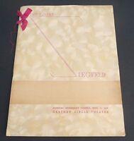 Vtg original Great Ziegfeld movie premiere program 1936 William Powell Myrna Loy