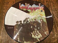 """LED ZEPPELIN 2 PICTURE DISC 12""""SIZE"""