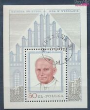 Poland block76 fine used / cancelled 1979 Pope Johannes Paul II. (7977075