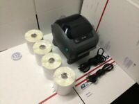 Zebra ZP 450 Thermal Label Barcode Printer 1000 Labels Free Remote Tech Support