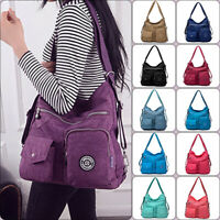 Khalia High Capaciy Waterproof Backpack Multifunctional Satchel Shoulder Bag