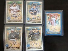 New Listing2020 Gypsy Queen autographs (lot of 5, two Rookies)