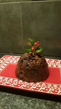 Homemade luxury Christmas Pudding 450g, serves 2/3