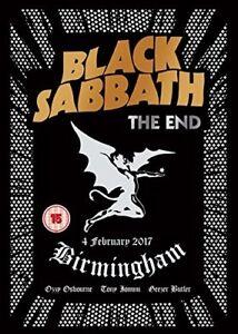 BLACK SABBATH - THE END (LIVE IN BIRMINGHAM,DVD)   DVD NEU