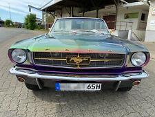 1965 Ford Mustang Cabrio, V8, Showcar, Chameleon, H-Zulassung, TÜV NEU, C-Code