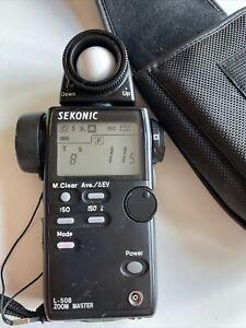 Sekonic L-508 Zoom Master Light Meter