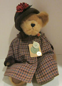 "BOYDS 16"" Amanda K Huntington Investment Collectibles Bear EC w attached tags"