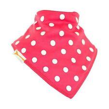 Funky Giraffe Bright Pink & White Spots Bib **Buy 4 get 1 FREE** 5 for £11.96