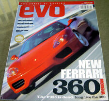 Evo Issue 6 Ferrari 360 R34 GT-R Lotus Elise VVC Evo VI V12 Aston DB7 F40 IS200