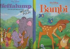 3 Walt Disney Bilderbücher Bambi, Das Dschungelbuch, Heffalump