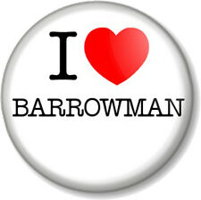 I Love / Heart BARROWMAN 25mm Pin Button Badge John Singer Torchwood Doctor Who