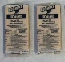 Rodentex Multi Feed bars(2) kill rats mice voles rat mouse vole poison bar New