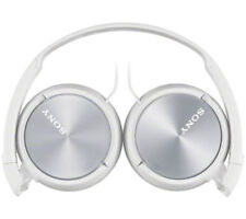Sony Headphones MDR-ZX310AP Foldable Stereo Headset Earphones-White. With Mic.