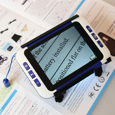 """3.5""""LCD Screen Portable Low Vision Electronic Video Magnifier Reading Aid 2x-32x"""