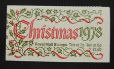 GB Booklet £1.60 1978 Christmas MNH