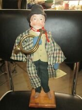 Christi Character Doll with Tag~Old Fashioned Man with Horn~#2803