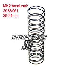 THROTTLE Spring Amal 2928/061 TRIUMPH 99-7071 BSA Norton mk2 MOLLA CARBURATORE 2930