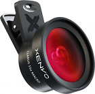 Wide Angle Lens With Led Light And Travel Case Kit For Iphone Samsung Pixel
