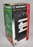 Game Storage Tower N64 Nintendo 64 Boxed