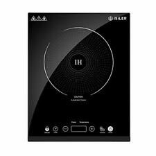 Portable Induction Cooktop, iSiLer 1800W Sensor Touch Electric Induction Cooker