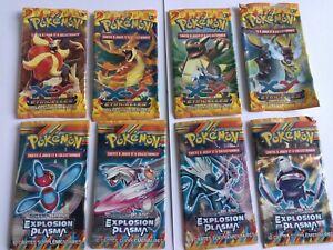 8 Illustrations Pokémon Boosters Vides Étincelles XY - Explosion Plasma.fR