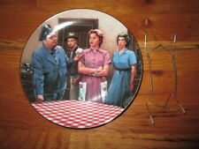The Hamilton Collection Porcelain Plate The Honeymooners 1987 Vip Corp W Hanger