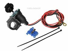 12V Alimentation électrique pour Navi ou charge de la batterie Moto BMW DUCATI