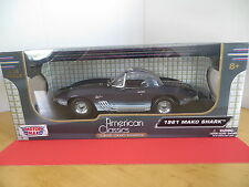 1961 Corvette MAKO SHARK  1:18 Scale Die Cast Model By Motor Max Collectible
