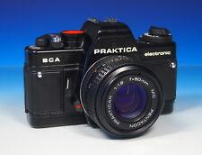 Praktica BCA electronic mit Pentacon Prakticar 50mm/1.8 MC - (43843)