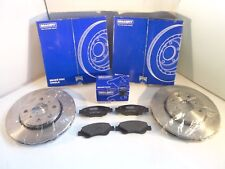 Citroen C1 Front Brake Discs and Pads Set Vented 2005-Onwards *GENUINE BRAKEFIT*