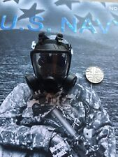 MINI volte US Navy Ultima NAVE TOM Chandler Casco Maschera Loose SCALA 1/6th