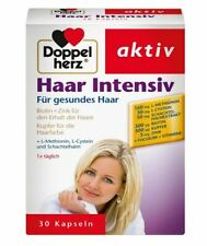 Doppelherz Haar Intensiv - 30 Days Hair Biotin Dietary supplement - From Germany